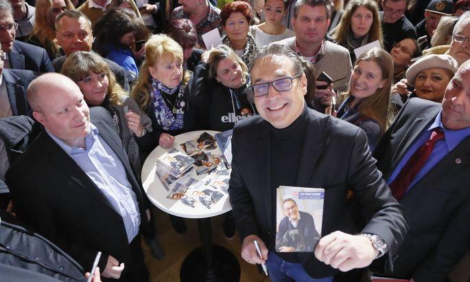 Heinz-Christian Strache will mit seiner Liste die FPÖ bei der Wien- Wahl überholen.