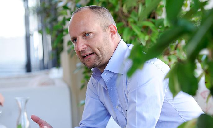 Neos-Chef Matthias Strolz
