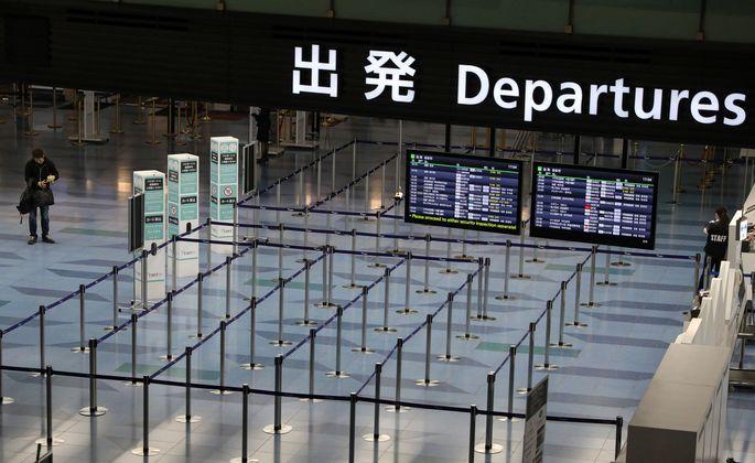 Leere Hallen auf dem Tokioter Flughafen, leere Betten in den österreichischen Hotels.