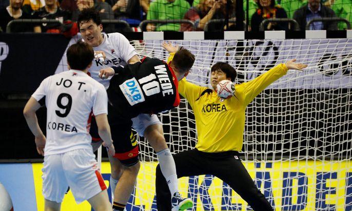 Torhüter Park Jaeyong verhinderte eine höhere Niederlage.