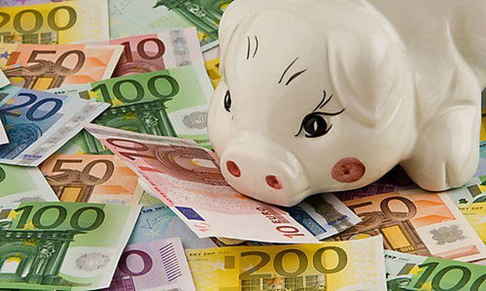 Geldscheine der europ�ischen Euro-W�hrung
