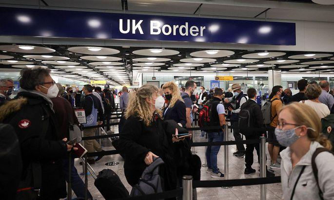 Die Einreise nach England wird künftig für Österreicher einfacher.
