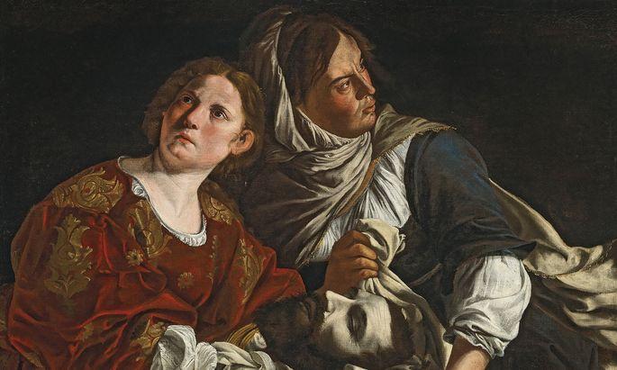 """""""Judith mit der Dienerin und dem Haupt des Holofernes"""" von Artemisia Gentileschi kommt im Dorotheum mit einem Schätzpreis von 300.000 bis 400.000 Euro zum Aufruf."""