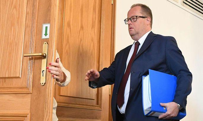 Ex-Staatssekretär Hubert Fuchs.