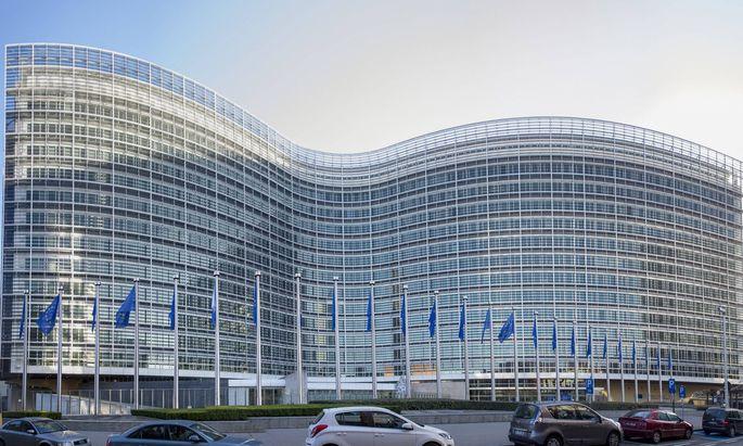 EU Kommissionsgebäude.