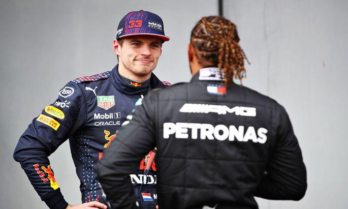 Ihr Generationenduell beschert der Königsklasse die packendste Saison seit Jahren: Max Verstappen (l.) und Lewis Hamilton.