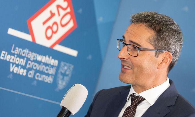 Landeshauptmann Arno Kompatscher hat einen neuen Koalitionspartner, die Lega.