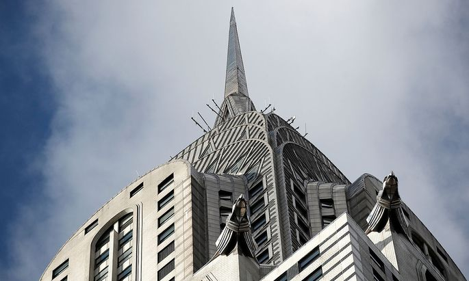 New York City's iconic Chrysler Building is seen in Manhattan