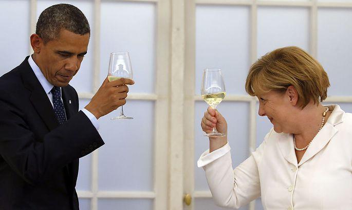 Zum Feiern gibt es zwischen Deutschland und den USA derzeit wenig