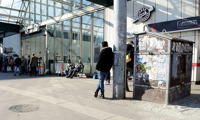 Polizei verstärkt Präsenz am Wiener Westbahnhof