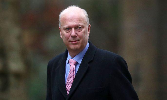 Grayling, Minister seit Juli 2016.