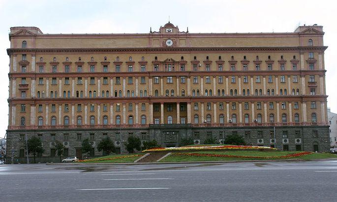 KGB-Gebäude in Moskau.