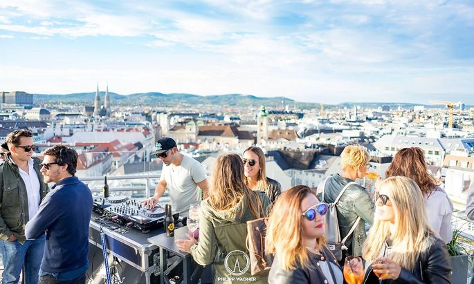 Die Rooftop-Bar, Bild zur Verfügung gestellt vom Event-Veranstalter