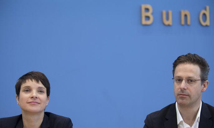Petry Pretzell AfD DEU Deutschland Germany Berlin 15 05 2017 Frauke Petry Bundesvorsitzende d