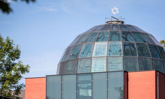 Archivbild von der Synagoge in Graz.