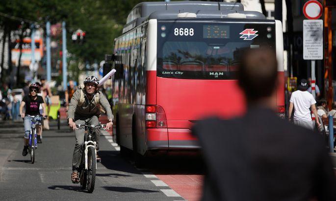 Aus für Radfahrer auf der Mariahilfer Straße?