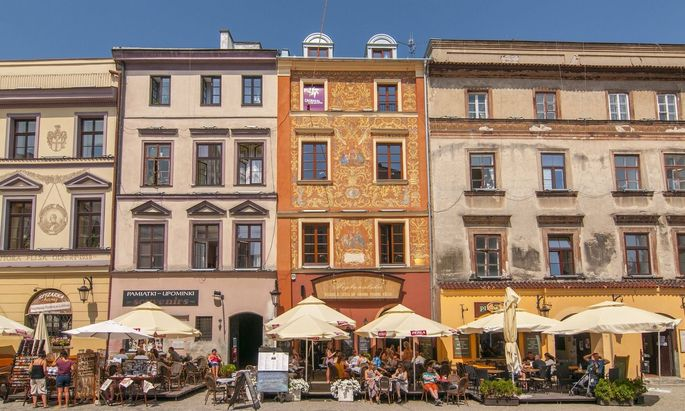 Historisches Zentrum von Lublin.