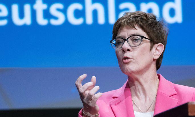 CDU-Chefin Kramp-Karrenbauer will nicht Ministerin werden