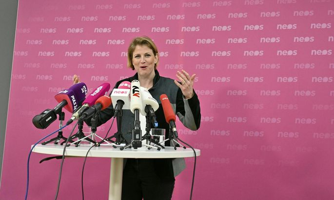 Neos-Obfrau Beate Meinl-Reisinger