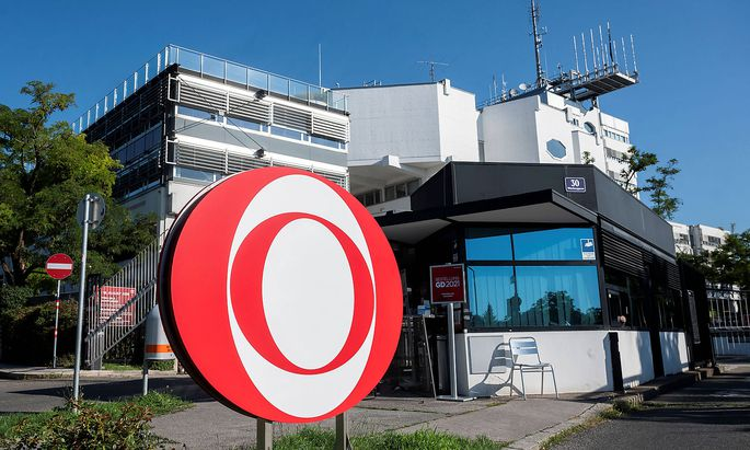 News Bilder des Tages 20210810 Election of the new General Director of ORF VIENNA, AUSTRIA - AUGUST 10: The building of