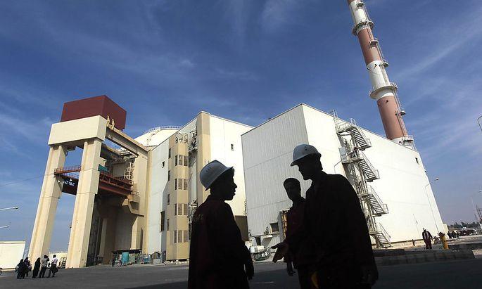 Archivbild des Akw Bushehr nach russischer Bauart im Süden des Iran.