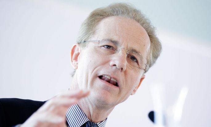 Georg Kapsch: im ersten Quaral weniger verdient