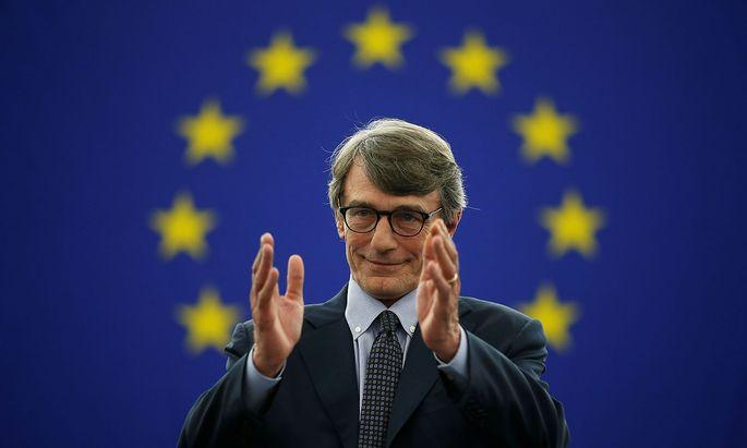 David-Maria Sassoli setzte sich im zweiten Wahlgang durch und wird wohl für zweieinhalb Jahre EU-Parlamentspräsident sein.