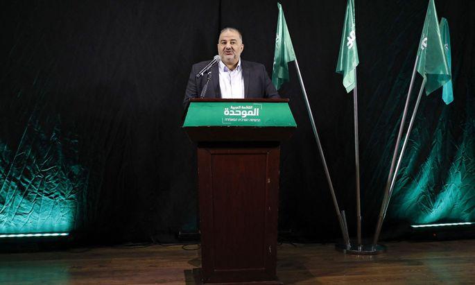 Mansour Abbas, Chef von Israels konservativer islamischer Partei Ra'am, könnte Netanjahu das Premiersamt sichern.