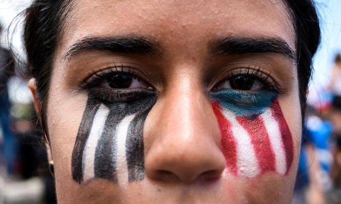 In Puerto Rico sind es vor allem Frauen gewesen, die zwei Wochen lang protestiert haben.