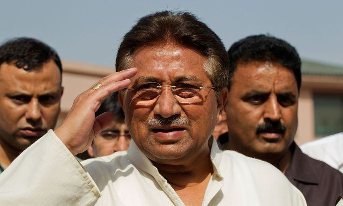 Archivbild. Pervez Musharraf regierte von 1999 bis 2008 in Pakistan.