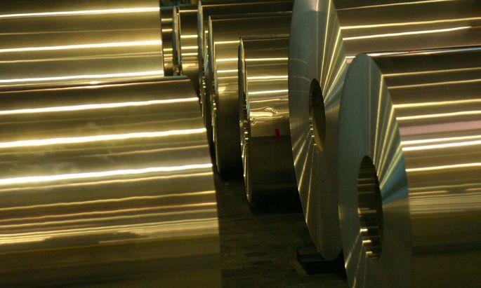 Aus Aluminium, wie im Symbolbild, werden Gussteile für Autos hergestellt.