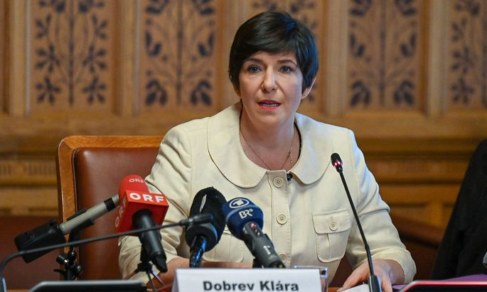 EU-Abgeordnete Klára Dobrev.