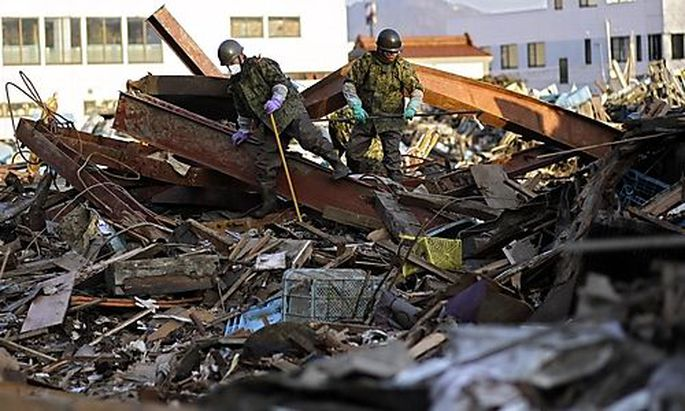 33 Milliarden Euro für den Wiederaufbau in Japan