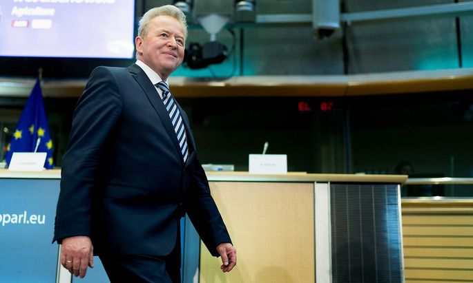 Janusz Wojciechowski bei seinem zweiten Hearing-Termin im EU-Parlament in Brüssel.