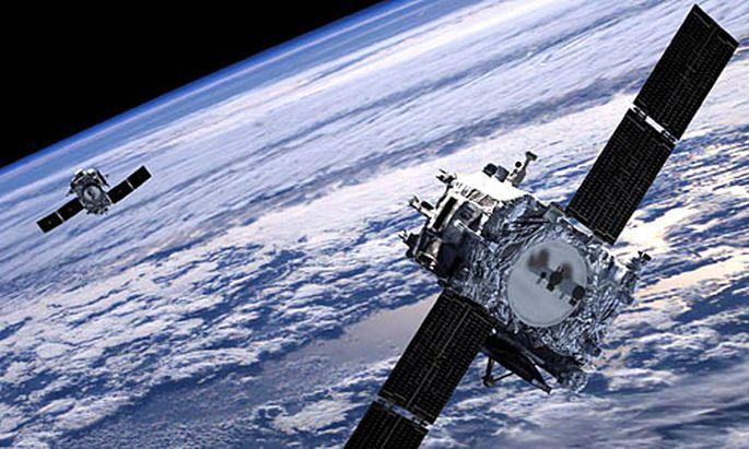 Symbolbild Satellit