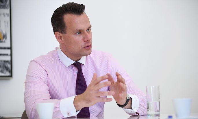 Christoph Boschan, Chef der Wiener Börse.