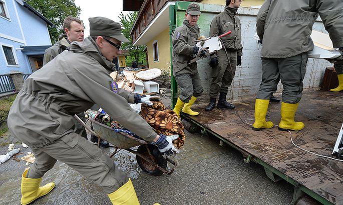 Bundesheer im Hochwassereinsatz