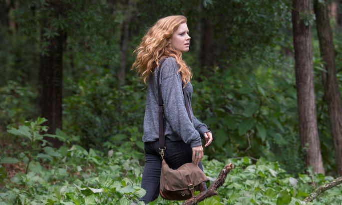 Die Journalistin Camille – Amy Adams mit typisch erschrecktem Blick – soll über einen Mädchenmord berichten.