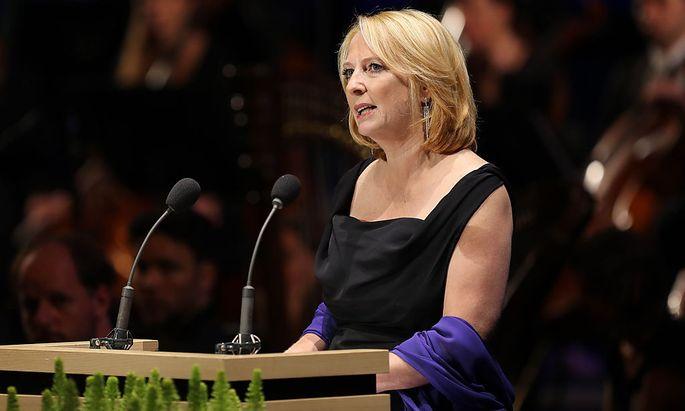Nationalratspräsidentin Doris Bures