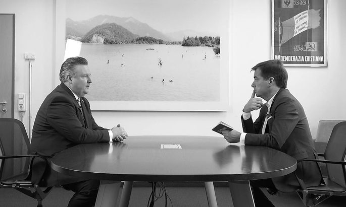 Michael Ludwig im Gespräch mit Rainer Nowak