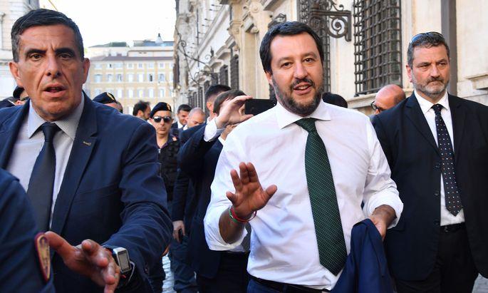 Matteo Salvini, der neue Innenminister Italiens.