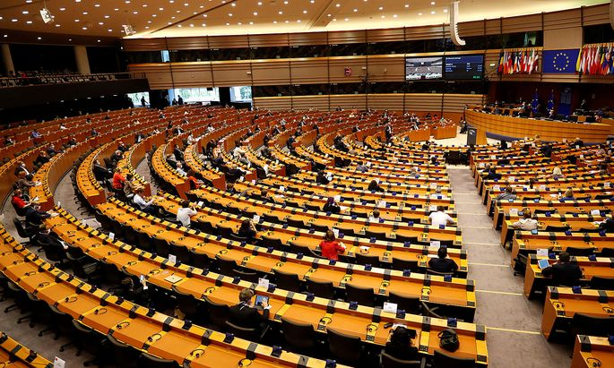 Sitzung des EU-Parlaments in Brüssel