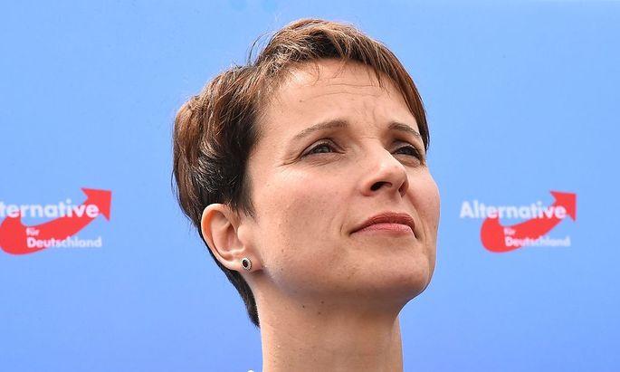 Frauke Petry: Grenzsicherung muss