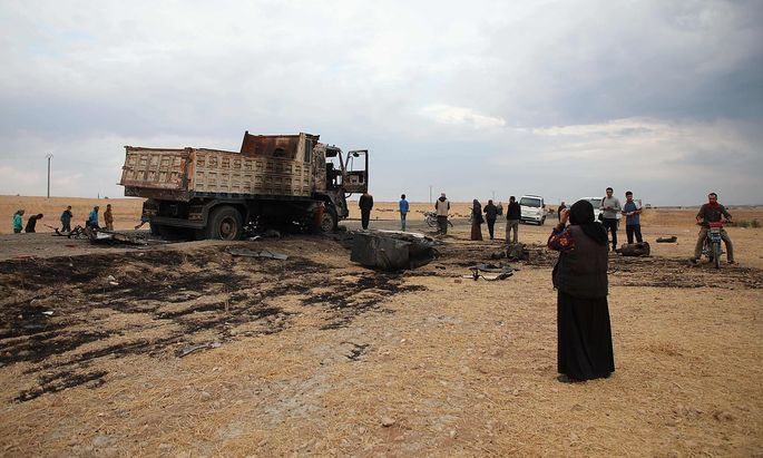 Auch Abu Hassan al-Muhajir, ein möglicher Stellvertreter al-Baghdadis, wurde bei einem US-Militärschlag getötet.
