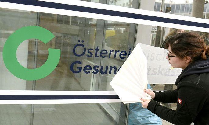 ++ THEMENBILD ++ OeSTERREICHISCHE GESUNDHEITSKASSE (OeGK)