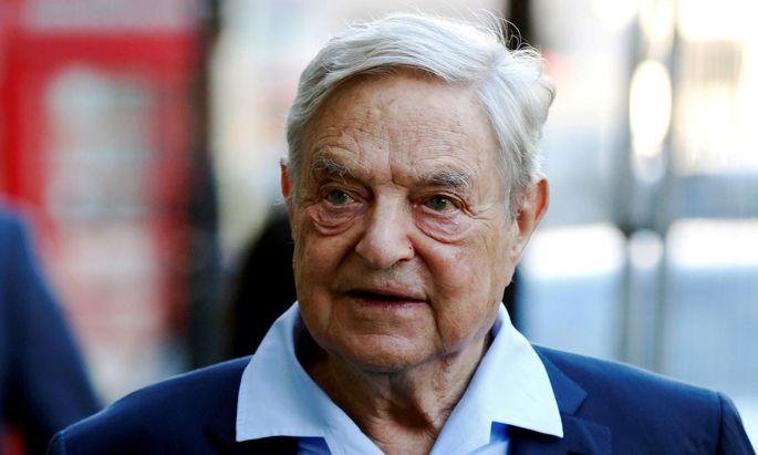 """George Soros setzte sein Vermögen auf die Verwirklichung der """"offenen Gesellschaft"""""""