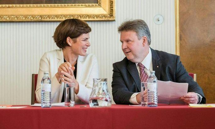 Archivbild: Pamela Rendi-Wagner und Michael Ludwig am 1. Oktober 2018.