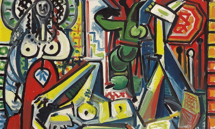 """""""Les femmes d'Alger"""" (Version F) von Pablo Picasso (Ausschnitt) ist das Spitzenlos der neuen Auktion von Christie's."""