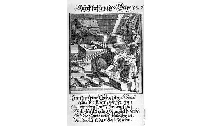 Abraham a Sancta Claras Werke waren damals Bestseller.