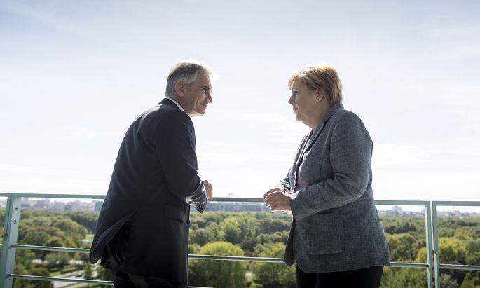 Treffen Merkel Faymann